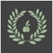 Icono que describe un olivar centenario tradicional